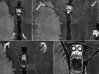 Babadook fan art competition, stills