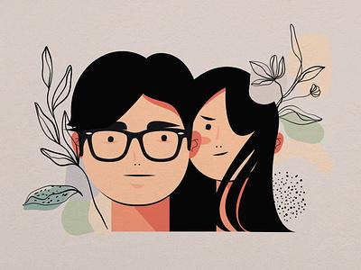 LOVE BIRD icon design vector illustrator illustration flat branding animation