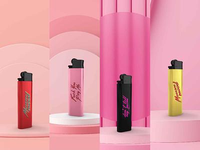lighter by massive moods @branding animated type illustrator branding illustration flat icon design animation