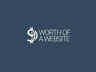 Worth of a Website Logo branding design logo
