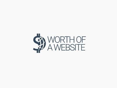 Worth of a Website Logo Invert logo design branding