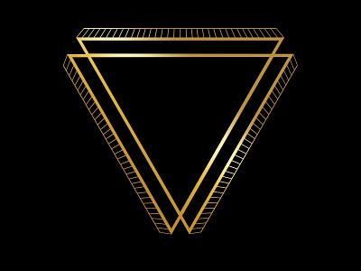 Mandala Triangle shape triangle design simple art mandala