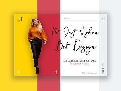 Fashion Website Design Inspiration portfolio minimal branding typography website webdesign psd logo design ux ui