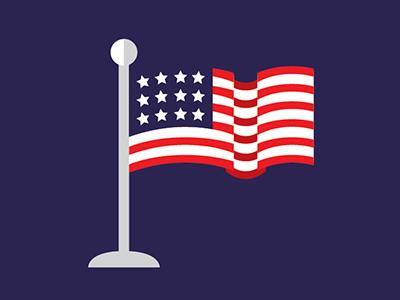 Flag america flag stars stripes
