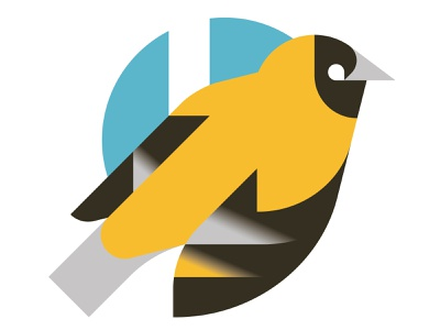 Another bird vector print minimal illustration bird animal