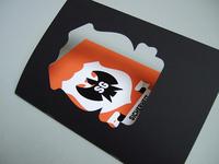 Printed badge and bandarole