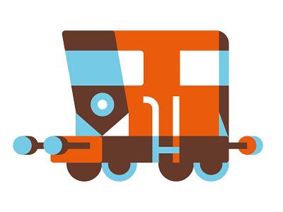 Choo-Choo vektorgrafik vector illustration zug locomotive train