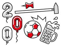 Anniversary + Tools + Soccer