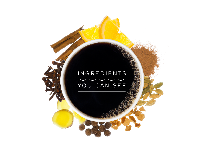 Ingredients You Can See typography photography natural ingredients eatsa food photography coffee