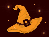 Ct Witch Hat Illustration Dribbble