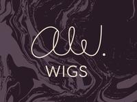 AW Wigs Logo