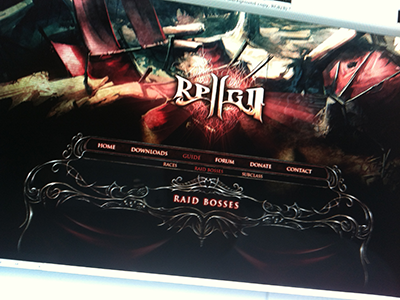 Reign II - Website reign diablo iii development game website