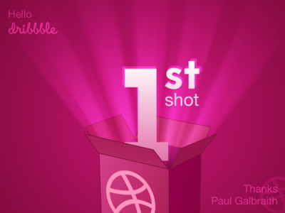 1st Shot 1st dribbble hello