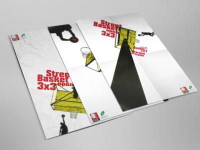Street basket sport basket poster