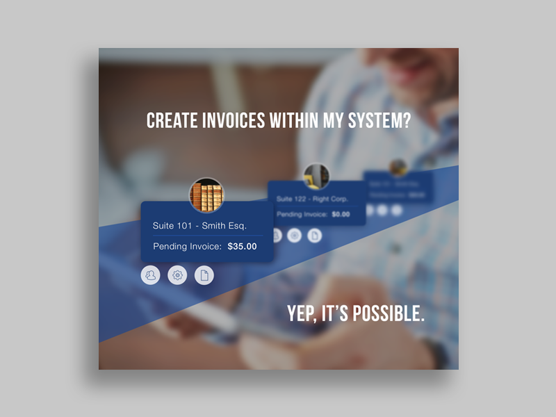 Invoicing Advertisement  marketing feature product ui campaign advertisement ad design