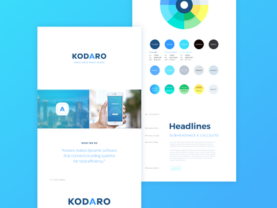Corporate Co Branding corporate brand guide brand guidelines logo type gradient blue data energy