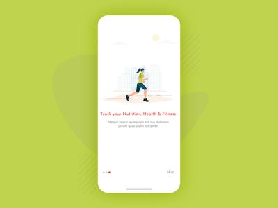 Onboarding Screen (Fitness App)