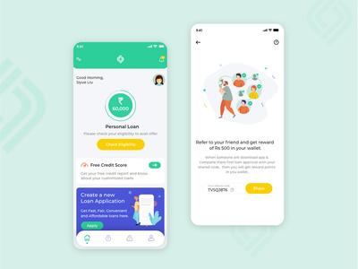 Redesign-Cashbean App