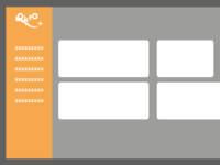 OKTO+ interface Wireframing