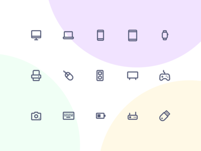 Jollycons - Devices - Icon Set
