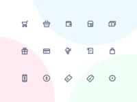 Jollycons - Ecommerce - Icon Set
