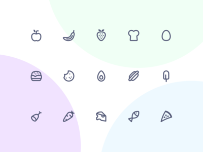 Jollycons - Food - Icon Set