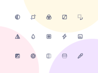 Jollycons - Image Editing - Icon Set