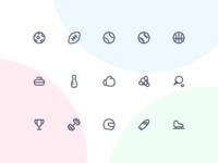Jollycons - Sports - Icon Set
