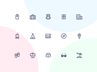 Jollycons - Travel - Icon Set
