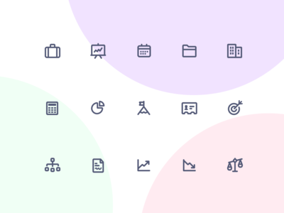 Jollycons - Business - Icon Set