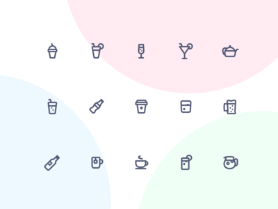 Jollycons - Drinks - Icon Set