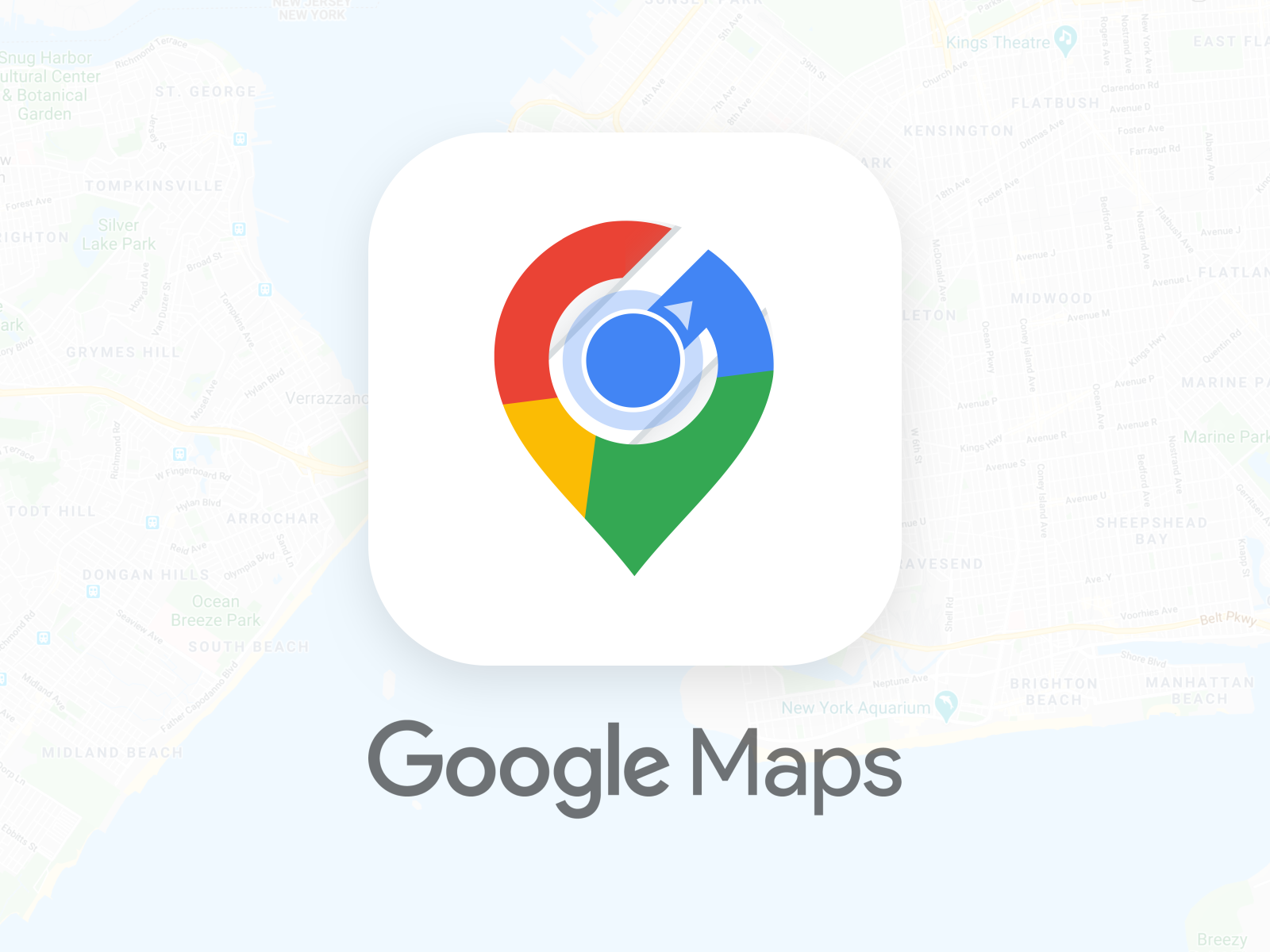Daily Ui 005 Google Maps App Icon Redesign By Prateek Mehra On Dribbble