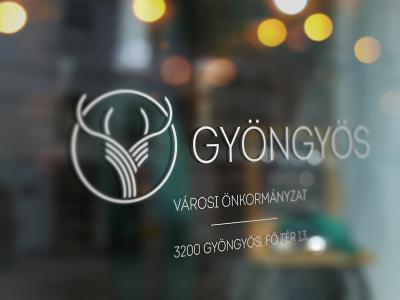 Logo concept / Gyöngyös city logodesign deer hungary identity concept logo city gyongyos