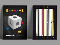 Bauhaus100 posters