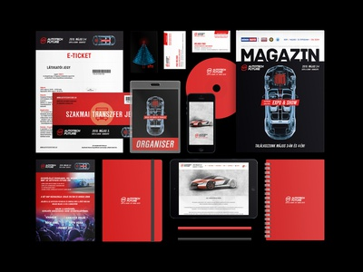 Brand identity / AutoTech Future Expo & Show 2019 industry automotive innovative atf show expo future autotech