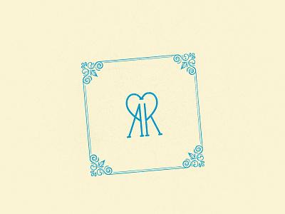 Our wedding identity / 2019 big day decoration beige turquoise typedesign wedding identity wedding logotype logo