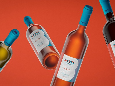 Brand identity / Bodri Winery logo branding pincészet packaging vine bodri winery bodri