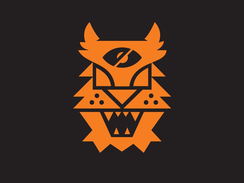 Blind Tiger PT. 2 tiger logo blind tiger tigers tiger logos eye illustration mark icons branding brand logo icon