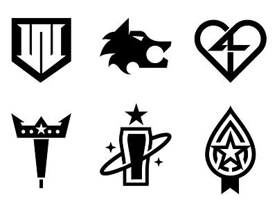 Mark Studies illustration wolf basketball logo tap beer web drop heart mark icons branding brand logo icon