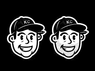 Self Portrait / Icon character design character mascot logo mascot portait badge mark illustration icons branding brand logo icon