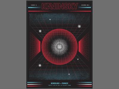Kavinsky Poster kavinsky gig posters gig poster poster design posters poster illustration