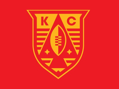 Chiefs Kingdom crown kingdom nfl football kansas city chiefs kansas city kc mark illustration icons branding brand logo icon