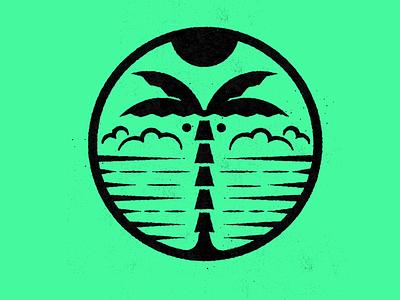 Tropical Mark Exploration design mark illustration icons branding brand logo icon