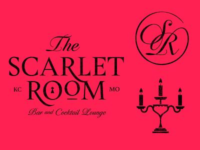 The Scarlet Room scarlet room scarlet kc kcmo kansas city design mark icons branding brand logo icon