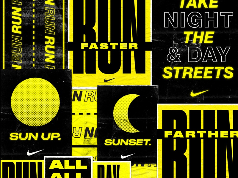 3ca1f59799440b Nike Running Poster Concepts by Alex Anderson on Dribbble
