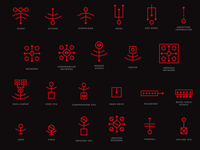 Mr. Robot Icons