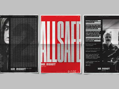 Mr Robot Season 1 Posters