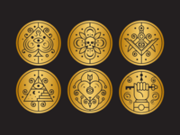Mystic Icon/Coin Explorations