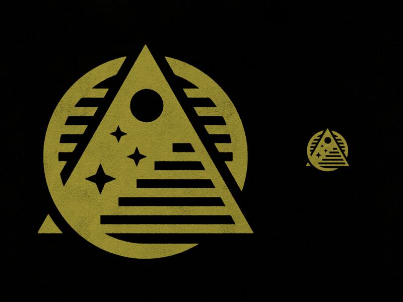 Logo Update monogram vector black logos stars gold badge mark icons branding logo brand icon