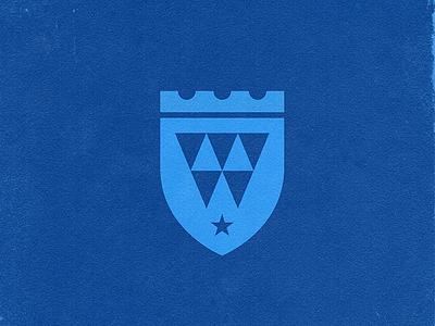 Dental Practice Logo mark star crown teeth dental dentist tooth shields shield icons branding brand logo icon